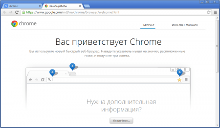 Google Chrome �����������