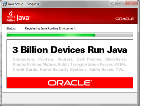 Java SE Runtime Environment